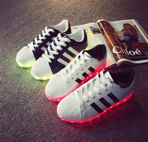 light up adidas shop 2016 led luminous casual shoes led shoes for