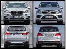 2015 MercedesBenz GLE vs 2015 BMW X5