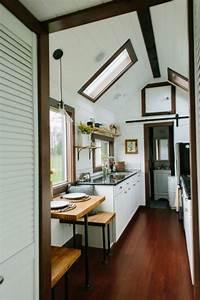 Couple39s Luxury Tiny Heirloom Home On Wheels