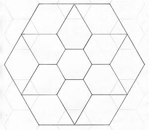 5 best images of printable english paper piecing templates With hexagon template for paper piecing