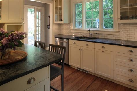Buy Soapstone Countertops by Awesome Soapstone Countertops Cost White Tiles Backsplash