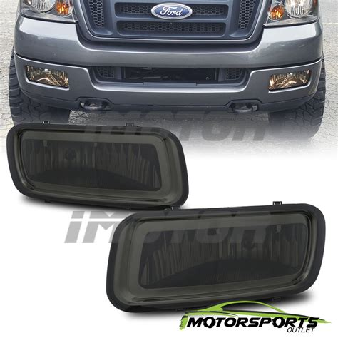 2004 2005 2006 ford f 150 f150 smoke tint fog lights front