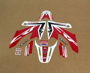 Decals stickers graphics kit for honda crf50 xr50 ssr 110 125 sdg dirt pit bike. 2013 - 2019 HONDA CRF 50 GRAPHICS CRF50 with custom ...