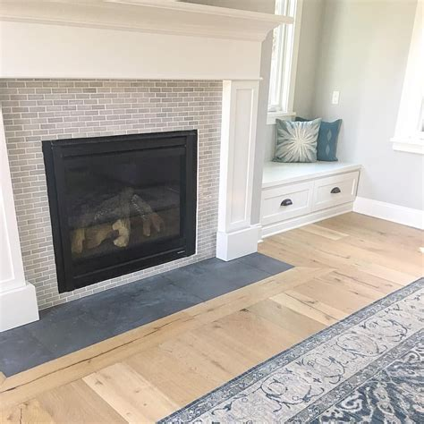 on instagram slightly obsessed with the new fireplace tile at the fireplace ideas