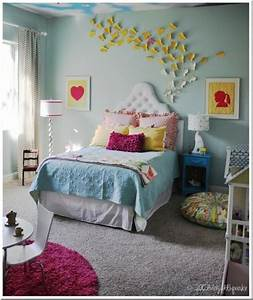 decoracao de quarto com o tema de borboletas With super cute teenage girls room