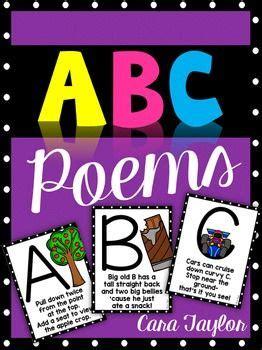 alphabet poem ideas  pinterest write  poem