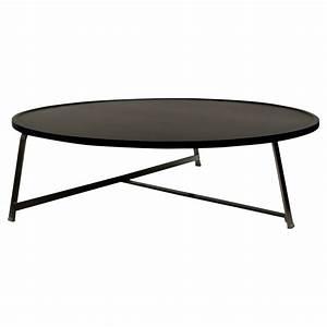 Grande Table Basse Ronde : grande table basse ronde 9 id es de d coration int rieure french decor ~ Teatrodelosmanantiales.com Idées de Décoration