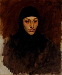 An Egyptian Woman Painting by John Singer Sargent