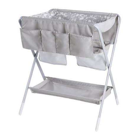 siege bebe pod table à langer pliante spoling ikea beige et blanc pas cher