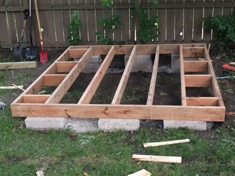 how to build a shed foundation foundation am i using the correct concrete blocks for