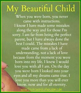 I may not be th... Perfect Baby Girl Quotes