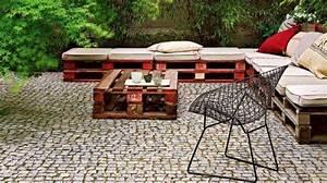 Salon Jardin En Palette : meuble en palette le guide ultime mis jour 2017 ~ Nature-et-papiers.com Idées de Décoration