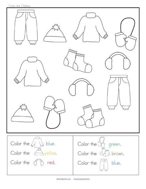 winter clothes sort categorizing centers and printables 715 | 9582c3f06cfd83e28f726955c04f8de2