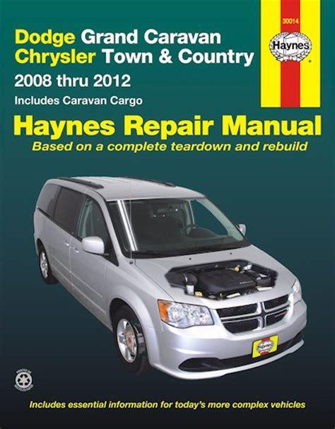 car manuals free online 2002 dodge caravan electronic toll collection dodge grand caravan chrysler town country 2008 2012 repair manual