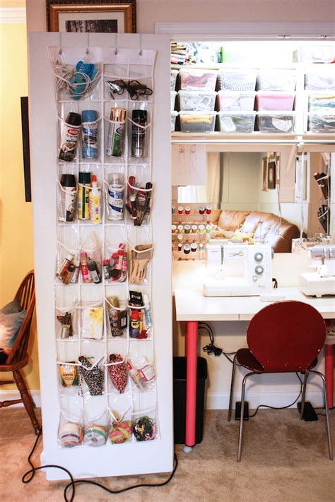 my sewing closet one litte minute