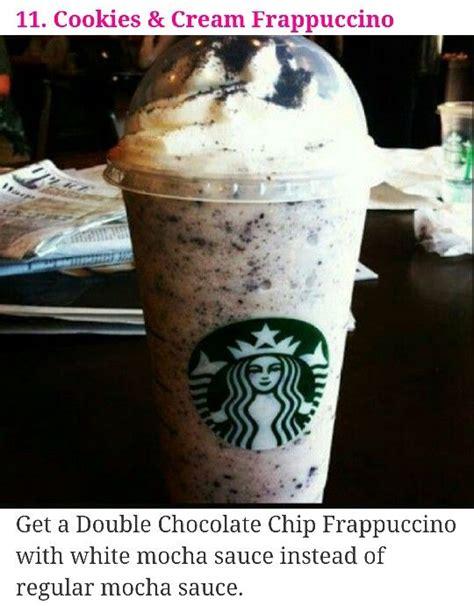 The best starbucks secret menu drinks, according to fans & baristas. Starbucks secret menu #11 | Starbucks drinks recipes, Starbucks cookies, Cookies and cream