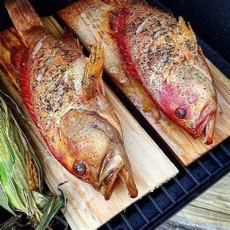traeger grouper smoked cherry instagram