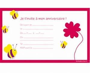 Invitation Anniversaire Fille 9 Ans : carte d invitation anniversaire 9 ans ~ Melissatoandfro.com Idées de Décoration