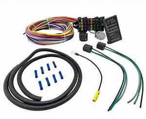 12 Circuit Universal Main Wiring Harness Kit Muscle Car