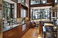 lovely larget kitchen plan 【環境を活かす検討】森の中に建つ家の開放的なキッチン | 住宅デザイン