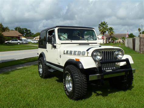 jeep laredo 1981 jeep cj7 laredo sport utility 2 door 4 2l classic