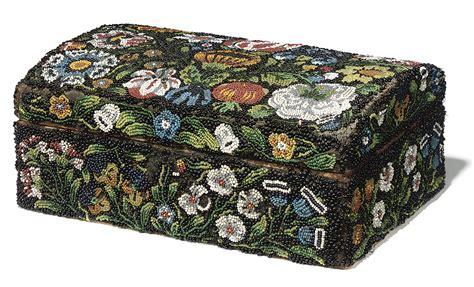a charles ii beadwork casket circa 1680 christie s