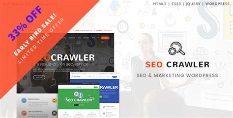 Digital Agency Seo Marketing Html Template Nulled by Nulled Theme Seo Crawler Digital Marketing Agency