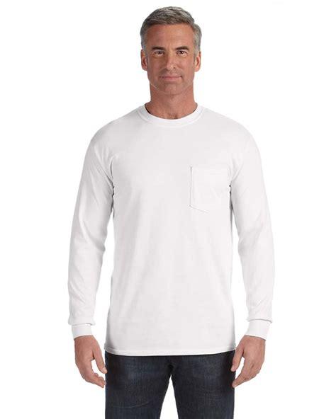 comfort colors sleeve comfort colors c4410 sleeve pocket t shirt 9 00