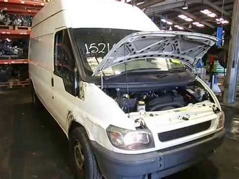 wrecking  ford transit engine   youtube