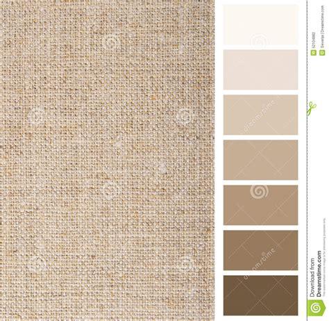 color linen linen hessian fabric color chart stock photo image 52104882
