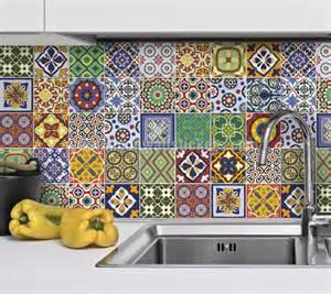 mexican tiles for kitchen backsplash stickers carrelage de décoration talavera