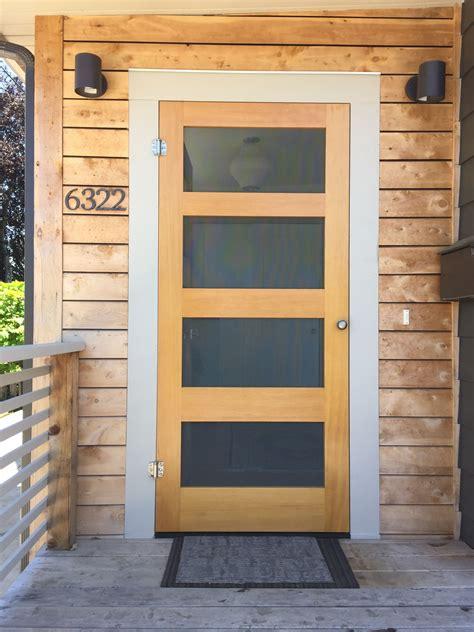 Screen Door by Modern Screen Door Spaces Diy Screen Door Wood Screen