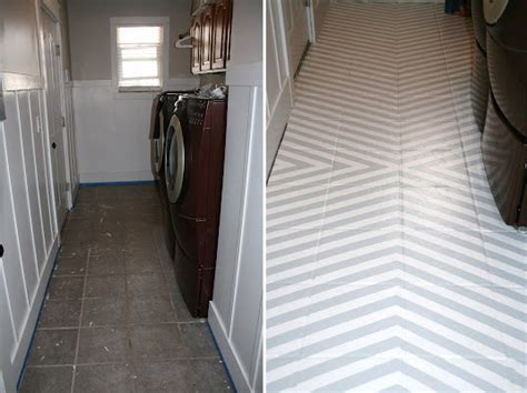 painting tile floors diy inspiration painting tile floors this american house