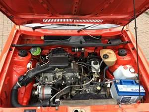Photo  1985 Volkswagen Golf Mk1 1 6 Gl Cabriolet Engine Bay
