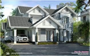 european house plans semi european style beautiful villa kerala home design and floor plans