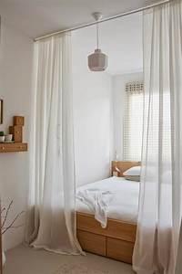 Voile De Lit : kleines schlafzimmer einrichten 80 bilder ~ Teatrodelosmanantiales.com Idées de Décoration