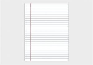 Free Notebook Paper Vector - Download Free Vector Art ...