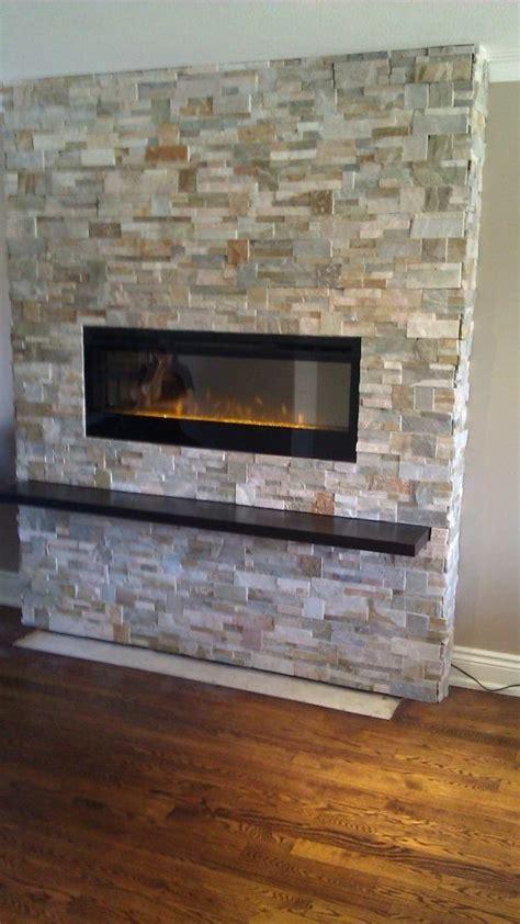pin  michelle miller  fireplace muros de piedra