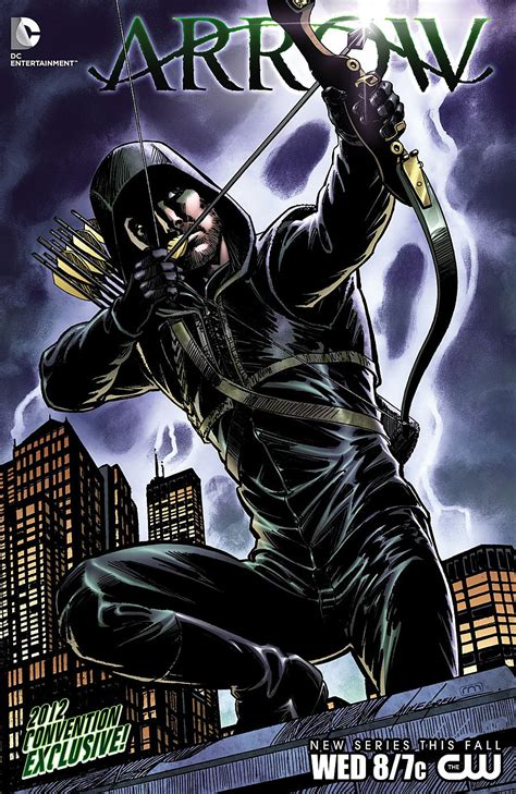 Dc Announces 'arrow' Comic To Tie In With Tv Show