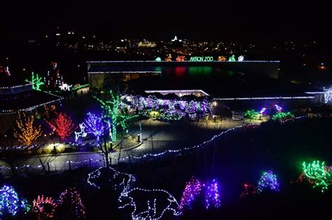 when does zoo lights start events at akron zoo start this weekend