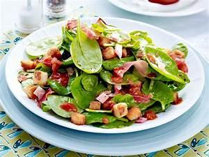 Leichte Salate Rezepte : gesundes abendessen lecker leichte rezepte kochen salat lecker und schinken ~ Frokenaadalensverden.com Haus und Dekorationen