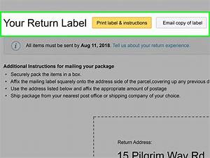 How To Send An Order Back To Amazon  7 Steps  With Pictures