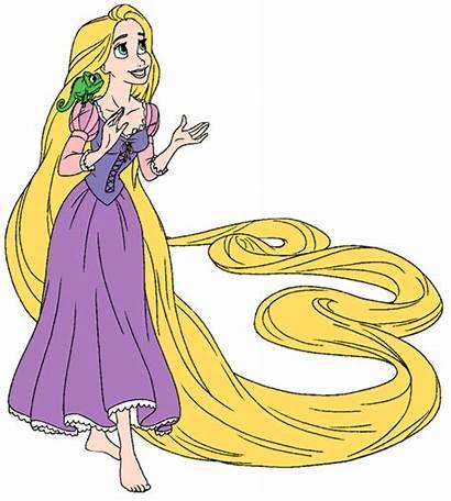 Rapunzel Tangled Clipart Pascal Disney Clip Princess