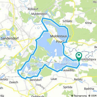 radwege und routen  und um loebnitz bikemap deine