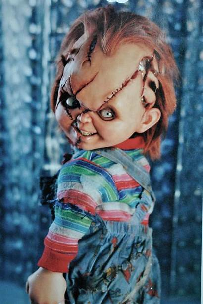 Chucky Bride Face Fanpop Yagher Kevin Studio