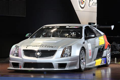 cadillac cts  coupe scca race car detroit  photo