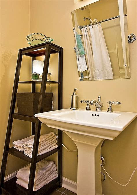paint ideas for small bathroom stepping it up in style 50 ladder shelves and display ideas