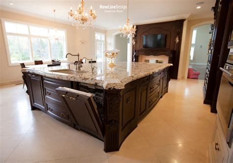 splendor gold granite Kitchen Traditional with 3x6 Subway
