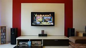 Fernseher An Die Wand : fernseher an die wand haus dekoration ~ Bigdaddyawards.com Haus und Dekorationen