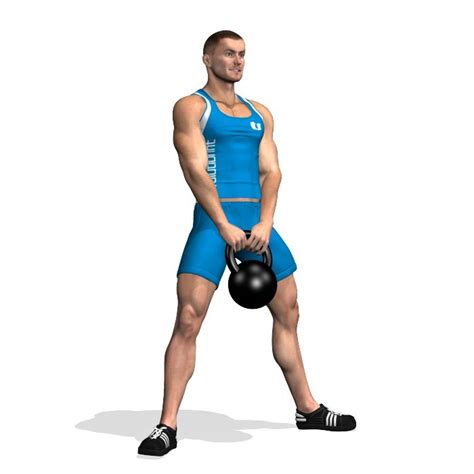 sumo squat kettlebell evolutionfit muscles squats glutes during involved abs glutei addominali esercizi training